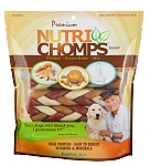 Nutri Chomp Braids 6inch, 10 Count Package
